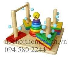 Đồ chơi thông minh 5 khối gỗ