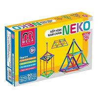 Đồ chơi thông minh thanh nam châm từ tình 7 màu (Bộ 60 Thanh, 30 Bi) 6030L