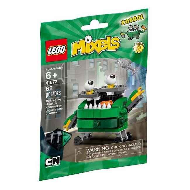 Đồ chơi thùng rác thông minh Gobbol Lego Mixels - 41572