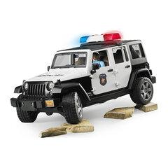 Đồ chơi Xe cảnh sát Jeep Wranger Rubicon và người BRU02526