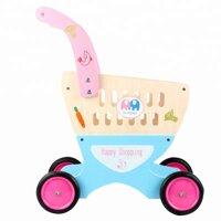 Đồ chơi xe đẩy siêu thị BBT Global cho bé bằng gỗ MSN17069