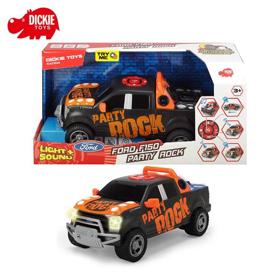 Đồ chơi Xe Dickie Toys Ford F150 Truck Party Rock Anthem 203765003