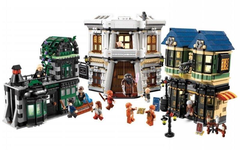 Đồ Chơi Xếp Hình Hẻm Xéo Diagon Alley Lego 10217