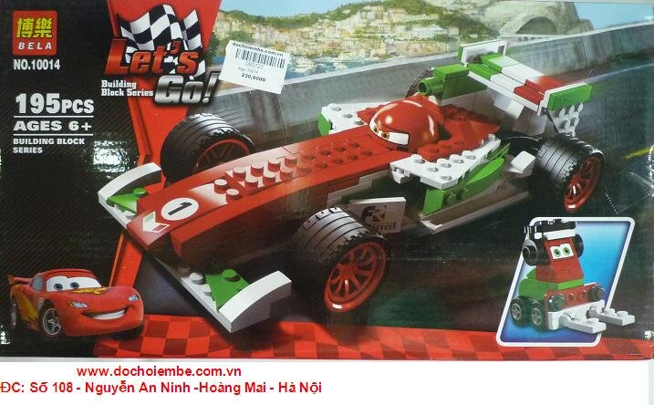 Đồ chơi xếp hình LEGO Car 10014