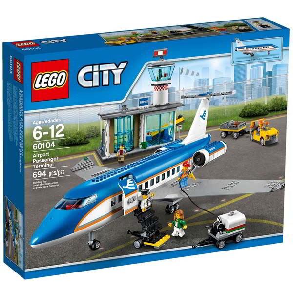 Đồ chơi xếp hình Lego City 60104 Ga Sân Bay