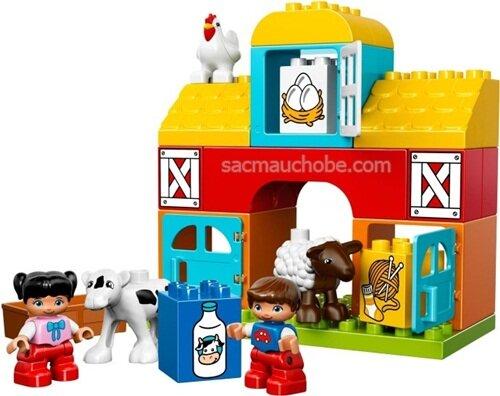 Đồ chơi xếp hình Lego Duplo Nông trại đầu tiên 10617