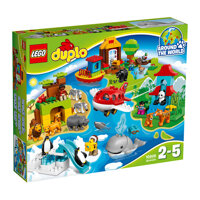Đồ chơi xếp hình Lego Duplo 10805 - Vòng Quanh Thế Giới