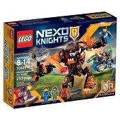 Đồ chơi xếp hình Lego Nexo Nights 70325 - Quái vật nham thạch bắt cóc nữ hoàng