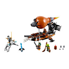 Đồ chơi xếp hình Lego Ninjago 70603 - Khinh khí cầu chiến đầu của tên Doubloon (294 mảnh ghép)