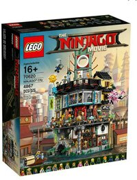 Đồ chơi xếp hình lego Ninjago 70620 - Ninjago City