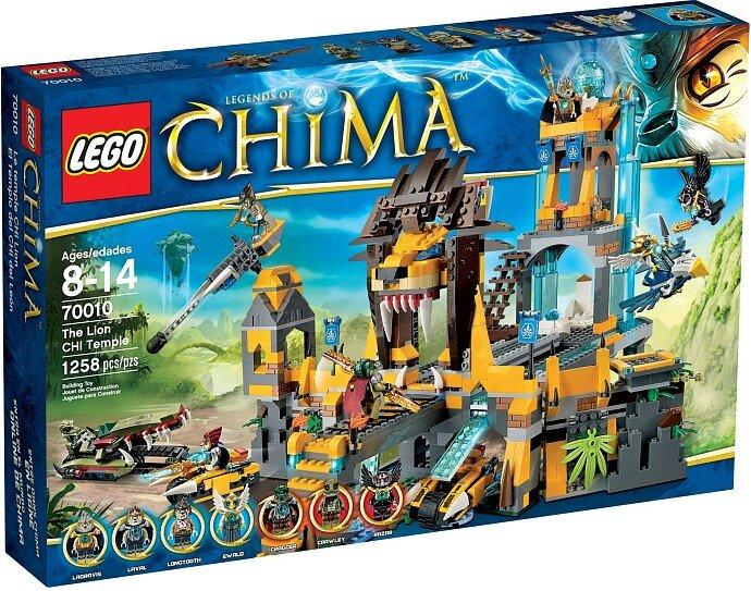 Đồ chơi Xếp hình ngôi đền sư tử LEGO 70010