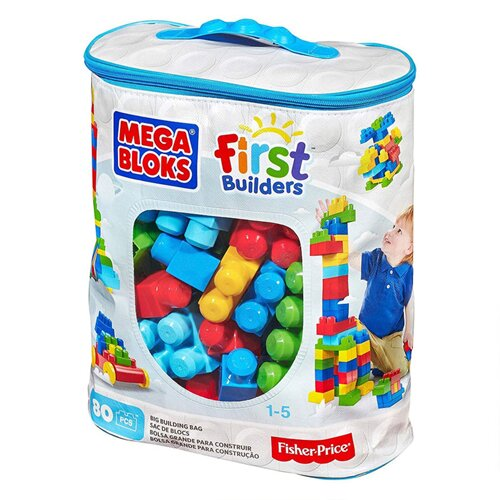 Đồ Chơi Xếp Khối Cơ Bản 80 Mảnh Mega Bloks - DCH63