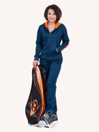 Bộ quần áo nỉ thể thao nữ Dunlop-DAFSF6034-2-NV