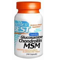Doctor's Best Glucosamine Chondroitin MSM – Viên Điều Hỗ Trợ Trị Bệnh Thoái Hóa Và Viêm Xương Khớp – 240 viên