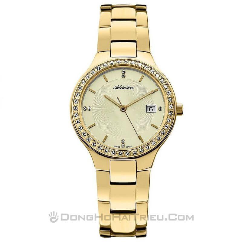 Đồng hồ Adriatica nữ Quartz A3694.1111QZ