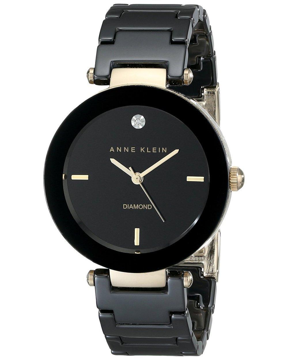 Đồng hồ Anne Klein nữ AK/1018BKBK