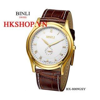 Đồng hồ cao cấp chính hãng Binli BX-8009GSY