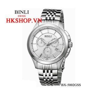 Đồng hồ cao cấp chính hãng Binli BX-5002GSS