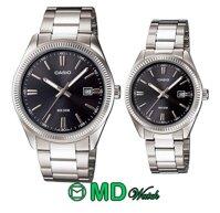 Đồng hồ cặp dây kim loại Casio MTP-1302D-1A1VDF-LTP-1302D-1A1VDF