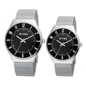 Đồng hồ cặp dây thép không gỉ EYKI EET8503