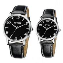 Đồng hồ cặp Eyki-EET8621G/L Đen