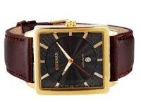 Đồng hồ Curren nam da vuông sang trọng CR006