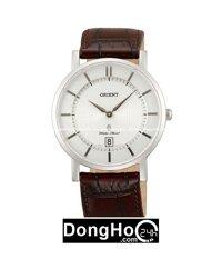 Đồng hồ dây da nam chính hãng Orient FGW01007W0