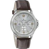 Đồng hồ dây da nam TITAN 1698SL01