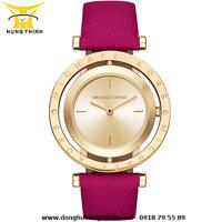 Đồng hồ dây da nữ Michael Kors MK2525