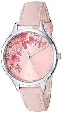 Đồng hồ dây da nữ Timex TW2R66600
