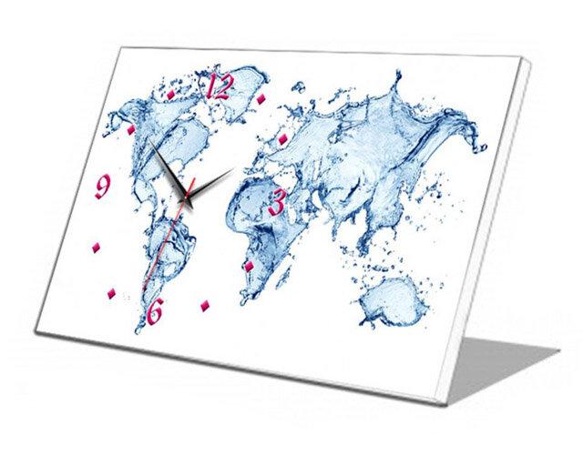 Đồng hồ để bàn Vicdecor vũ điệu nước (DHB0001)