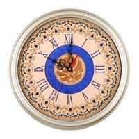 Đồng hồ Decor mặt gỗ hoa hồng MGHH