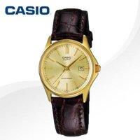 Đồng hồ đeo tay dây da Casio LTP-1183Q-9A