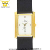 Đồng hồ đeo tay nam dây da Titan 1164YL07