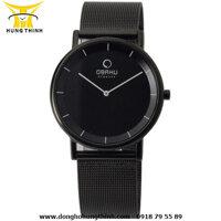 Đồng hồ đeo tay nam dây kim loại Obaku V143XBBMB