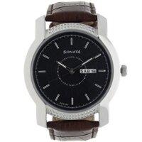 Đồng hồ đeo tay Nam Sonata 7093SL05