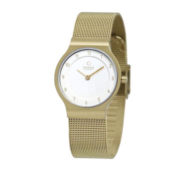 Đồng hồ đeo tay nữ Obaku V133LGGMG