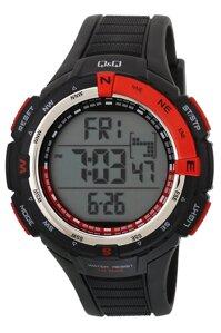 Đồng hồ Điện Tử nam Dây Plastic Q&Q M131J001Y