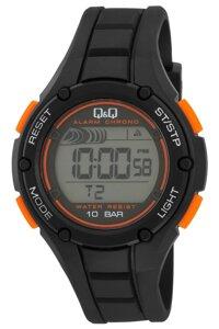Đồng hồ Điện Tử nam Dây Plastic Q&Q M129J003Y
