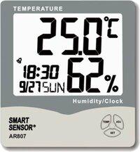 Đồng hồ đo độ ẩm nhiệt độ Smart Sensor AR807