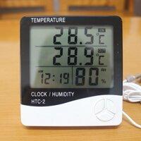 Đồng hồ đo nhiệt độ, độ ẩm Digtal HTC-2