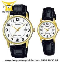 Đồng hồ đôi Casio MTP-V002GL-7BUDF và LTP-V002GL-7BUDF