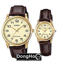 Đồng hồ đôi Casio MTP+LTP-V001GL - màu 1B/ 7B/ 9B