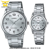 Đồng hồ đôi Casio MTP-V001D-7BUDF và LTP-V001D-7BUDF