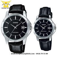 Đồng hồ đôi Casio MTP-V004L-1AUDF và LTP-V004L-1AUDF