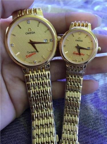Đồng hồ đôi Omega OM.128