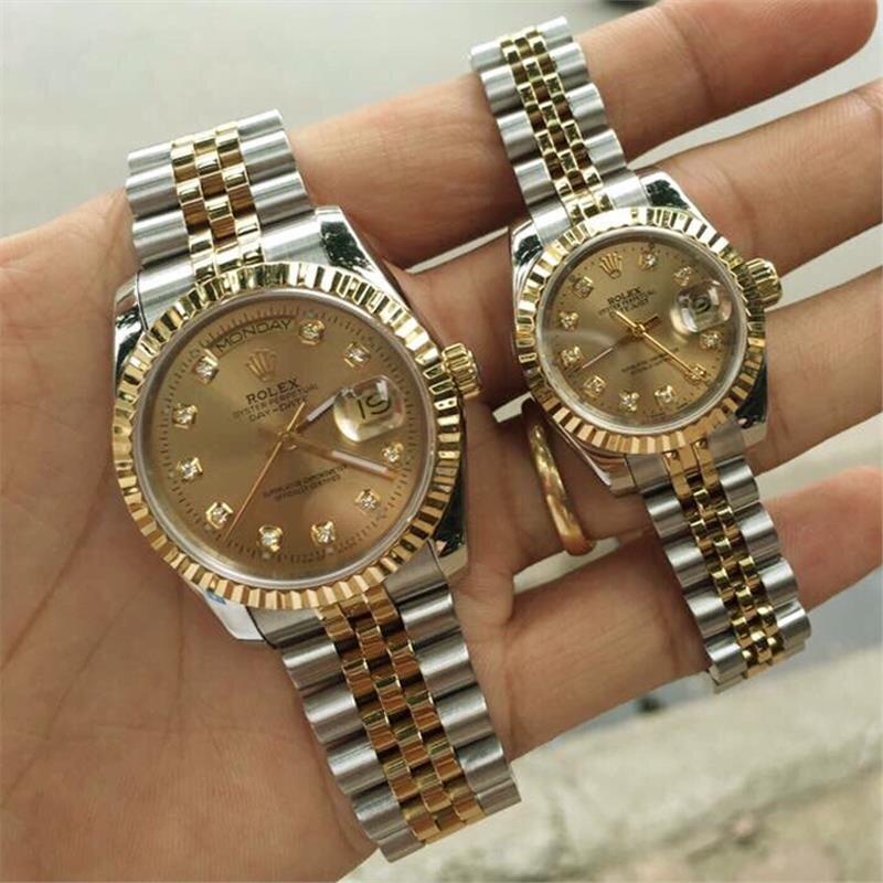 Đồng hồ đôi Rolex Automatic R.L207