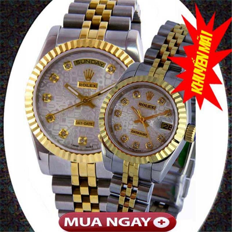 Đồng hồ đôi Rolex Automatic R.L114
