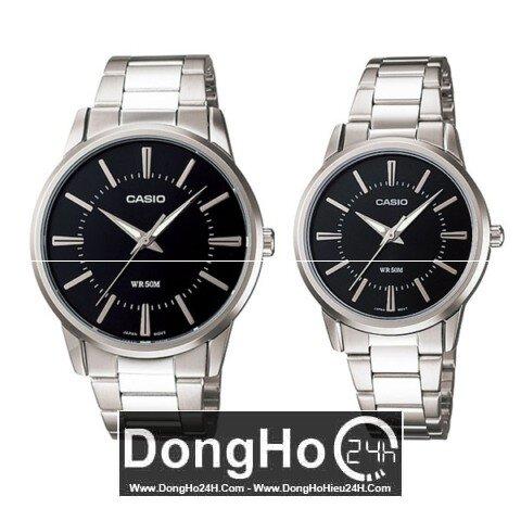 Đồng hồ đôi Casio-MTP+LTP-1303D - màu 1A, 7A