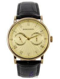 Đồng hồ kim dây da Romanson TL1275BMGGD